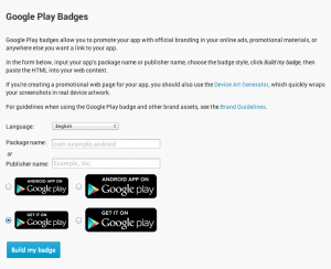 Google Play Badges