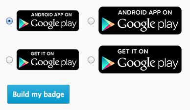 [ Google Play ]おすすめアプリのリンクバナー作成にGoogle Play Badgesを使う