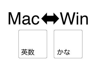 [ mac + Paralles + windows ] キー入力で「かな」と「半角英数」の切り替えを使いやすくするメモ